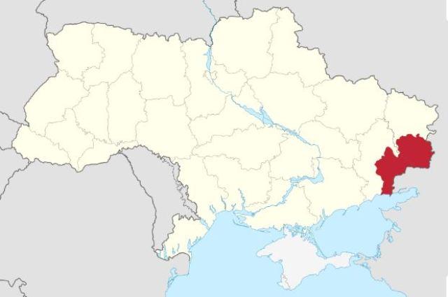 Окуповані РФ ОРДЛО і АРК на карті України, Воєнна партія України