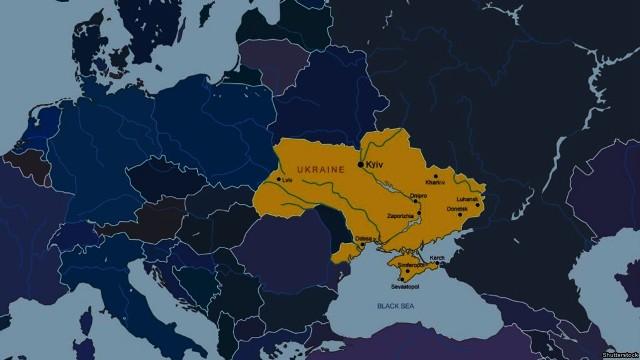 Україна на карті розширеної Європи виступ Президента Порошенка перед дипломатами, Воєнна партія України