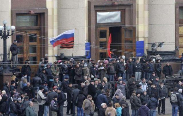 Захоплення Харківської ОДА гібридними ССО РФ